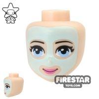 Product shot LEGO Friends Mini Figure Heads - Face Mask