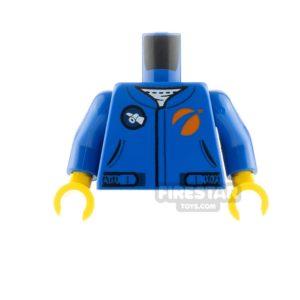 Product shot LEGO Friends Minifigure Torso Jumpsuit