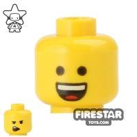 Product shot LEGO Mini Figure Heads - Big Open Smile
