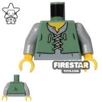 Product shot LEGO Mini Figure Torso - Peasant Child