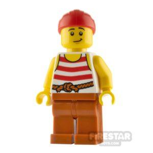 Product shot LEGO Pirate Minifigure Pirate Sriped Shirt