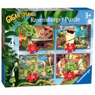 """Ravensburger Gigantosaurus 4 in Box (12"