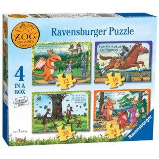"""""""Ravensburger Zog & Other Stories 4 in Box (12"""