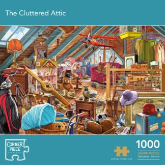 Product shot The Cluttered Attic 1000 Piece Jigsaw Puzzle