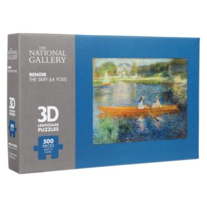 The Skiff 3D Jigsaw Puzzle (500 Pieces)