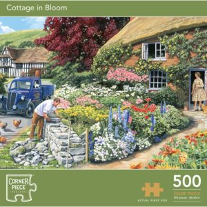 Product shot Cottage In Bloom 500 Piece Jigsaw Puzzle