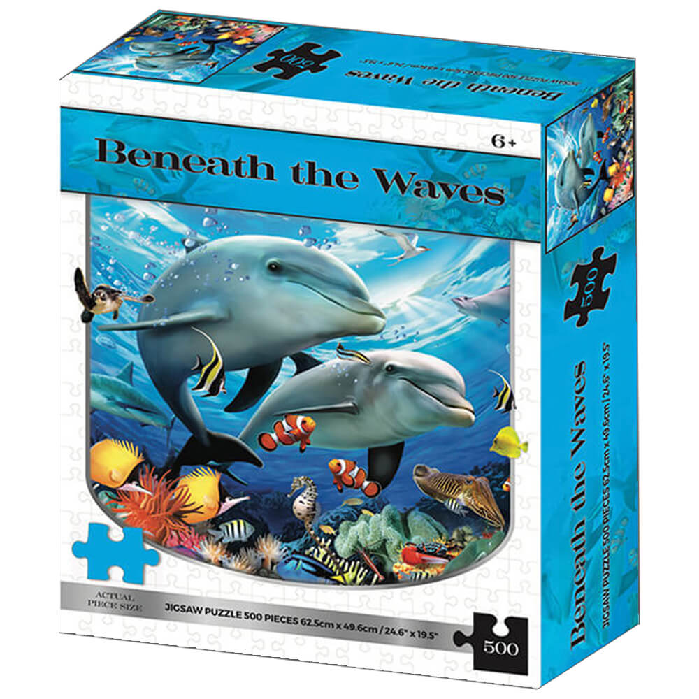Product shot Beneath The Waves 500 Piece Jigsaw Puzzle