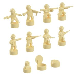 Product shot BrickMini Nano Soldiers - Tan Set