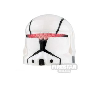 Product shot Clone Army Customs - Commando Helmet - Red