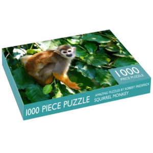 Product shot Costa Rica Monkey 1000 Piece Jigsaw Puzzle
