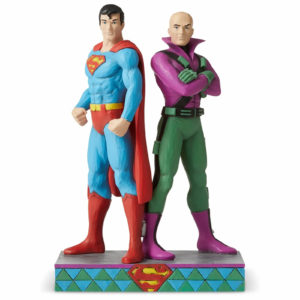 DC Comics by Jim Shore Superman™ vs Lex Luther Figurine 21.5cm
