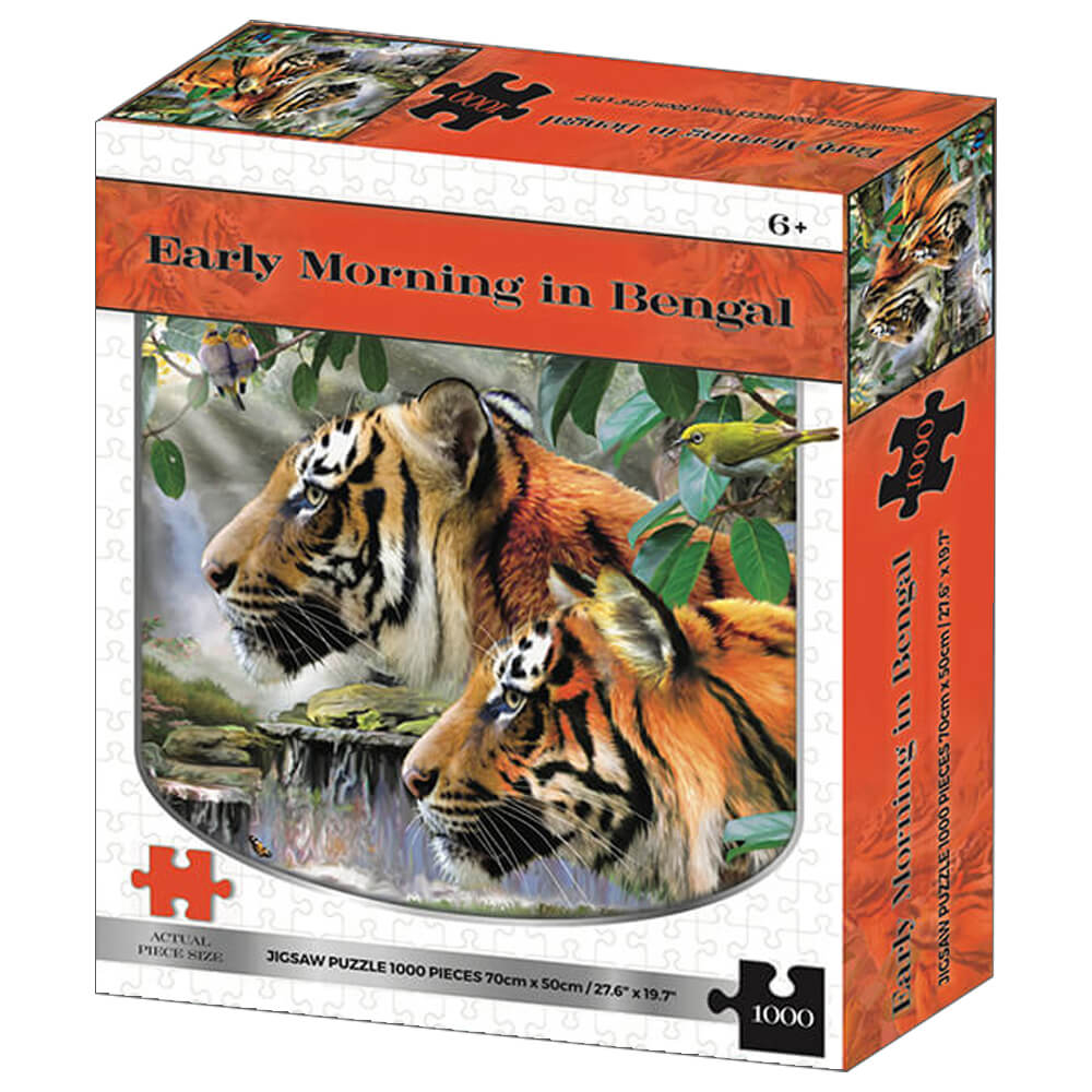 Product shot Early Morning In Bengal 1000 Piece Jigsaw Puzzle