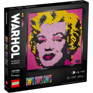 LEGO Art Andy Warhol's Marilyn Monroe Set for Adults (31197)