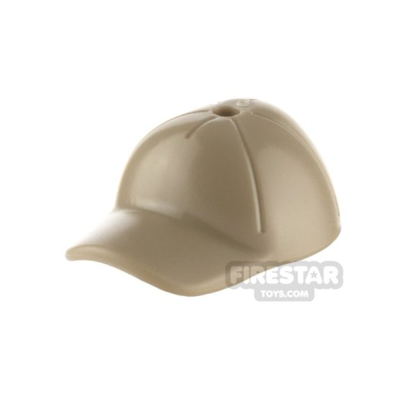 Product shot LEGO - Cap with Seams - Dark Tan
