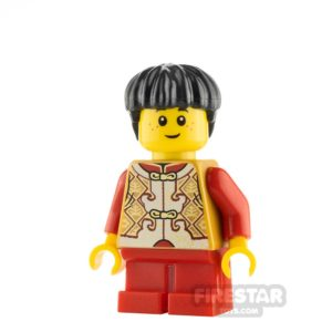 Product shot LEGO City Minifigure Chinese New Year Son