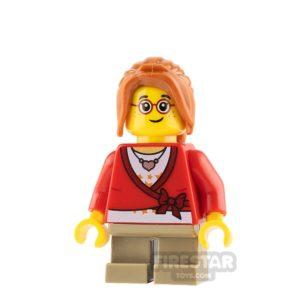 Product shot LEGO City Minifigure Cropped Sweater