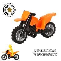 Product shot LEGO - Dirt Bike - Orange