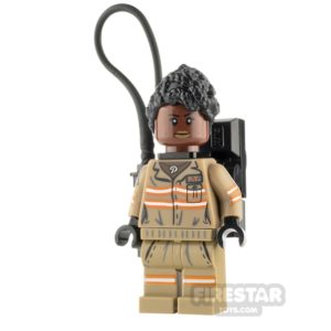 Product shot LEGO Ghostbusters Minfigure Patty Tolan