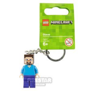 Product shot LEGO Key Chain Minecraft Steve