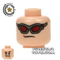 Product shot LEGO Mini Figure Heads - Avengers Hawkeye