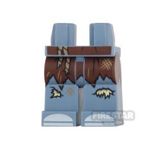 Product shot LEGO Mini Figure Legs - Batman - Scarecrow