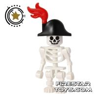 Product shot LEGO Mini Figure - Skeleton Pirate