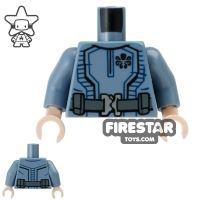 Product shot LEGO Mini Figure Torso - Baron Von Strucker - Hydra Suit