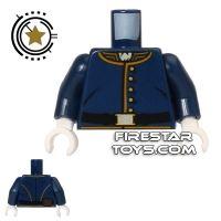 Product shot LEGO Mini Figure Torso - Cavalry Uniform