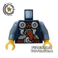 Product shot LEGO Mini Figure Torso - Viking Armour