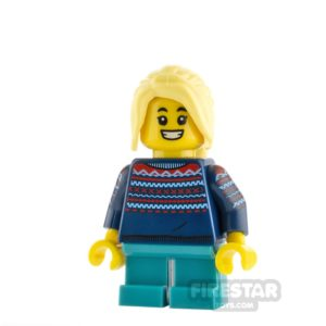 Product shot LEGO Minifigure Winter Girl