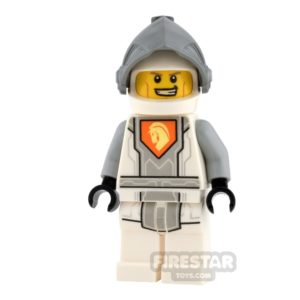 Product shot LEGO Nexo Knights Mini Figure - Battle Suit Lance