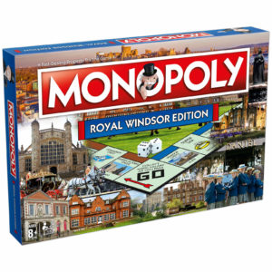 Monopoly Board Game - Royal Windsor Edition