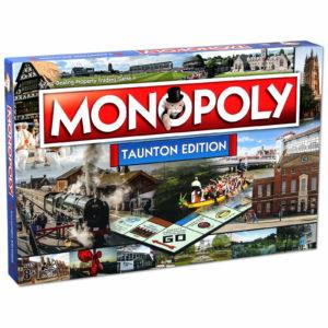 Monopoly Board Game - Taunton Edition