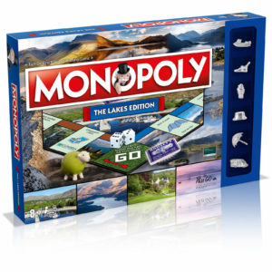 Monopoly Board Game - The Lakes Edition