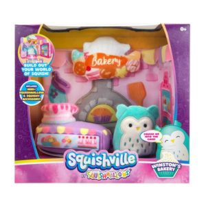 Squishville Soft Toy Play Scene - Bakery