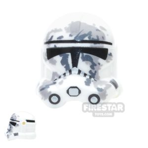 Product shot Arealight - Camo Trooper Helmet - White