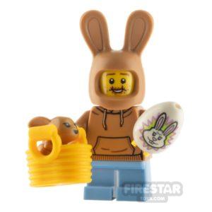Product shot Custom Minifigure Easter Egg Hunter Boy