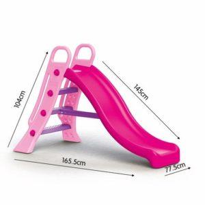 Dolu Big Pink Water Slide (H104 x L165.5 x W77.5 cm)