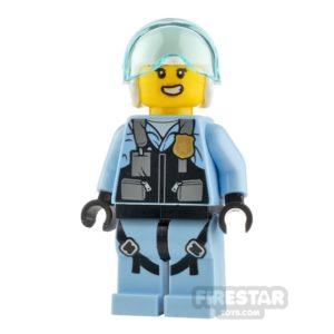 Product shot LEGO City Minfigure Rooky Partnur Jet Pilot