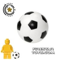 Product shot LEGO - Football Soccer Ball- Black and White
