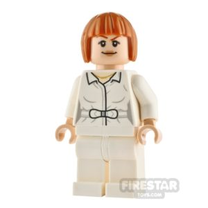 Product shot LEGO Jurassic World Figure Claire Dearing Closed Shirt