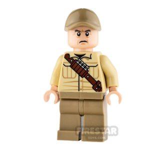 Product shot LEGO Jurassic World Figure - Ken Wheatley
