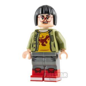 Product shot LEGO Jurassic World Figure - Zia Rodriguez