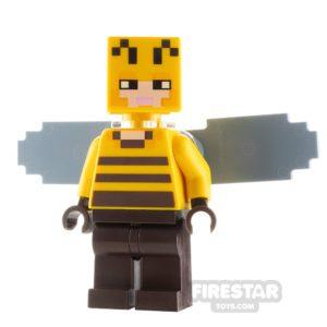 Product shot LEGO Minecraft Minifigure Beekeeper