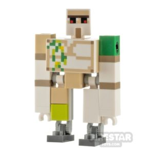 Product shot LEGO Minecraft Minifigure Iron Golem