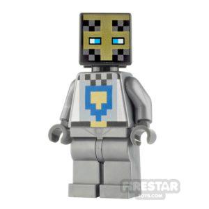 Product shot LEGO Minecraft Minifigure Knight