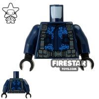 Product shot LEGO Mini Figure Torso - ACU Trooper