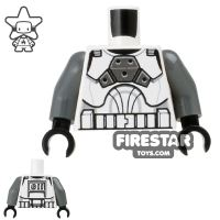 Product shot LEGO Mini Figure Torso - Clone Gunner