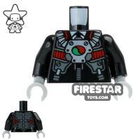 Product shot LEGO Mini Figure Torso - Robo Pilot Suit