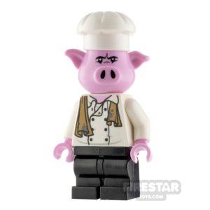 Product shot LEGO Monkie Kid Minifigure Pigsy Chef Jacket